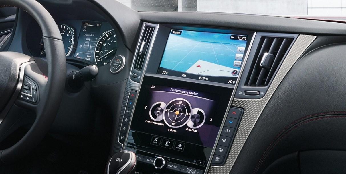2019 Infiniti Hybrid Q50 Interior