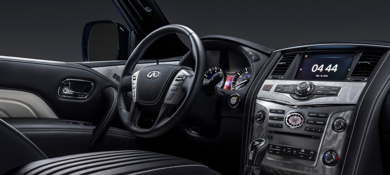 2019 Infiniti SUV Models Interior