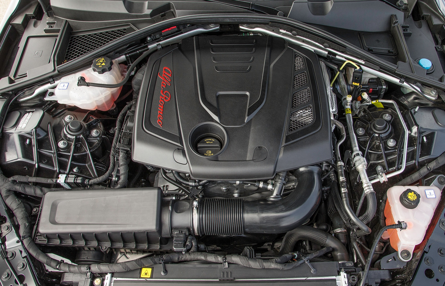 2020 Alfa Romeo 4C Engine