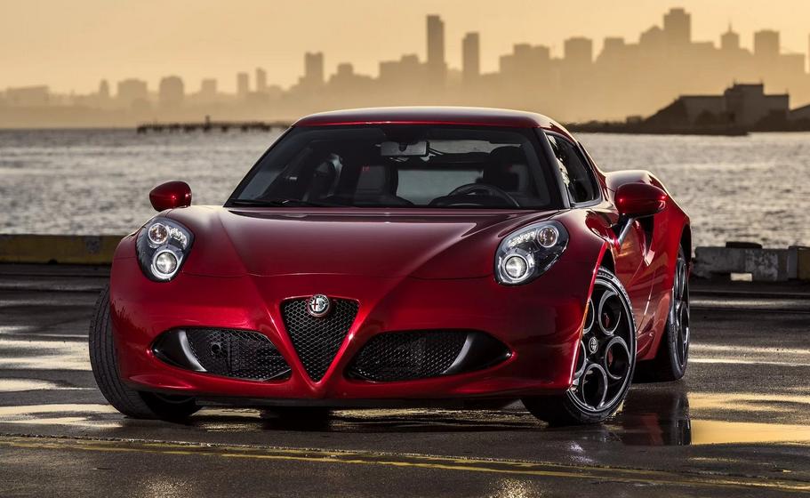 2020 Alfa Romeo 4C Exterior