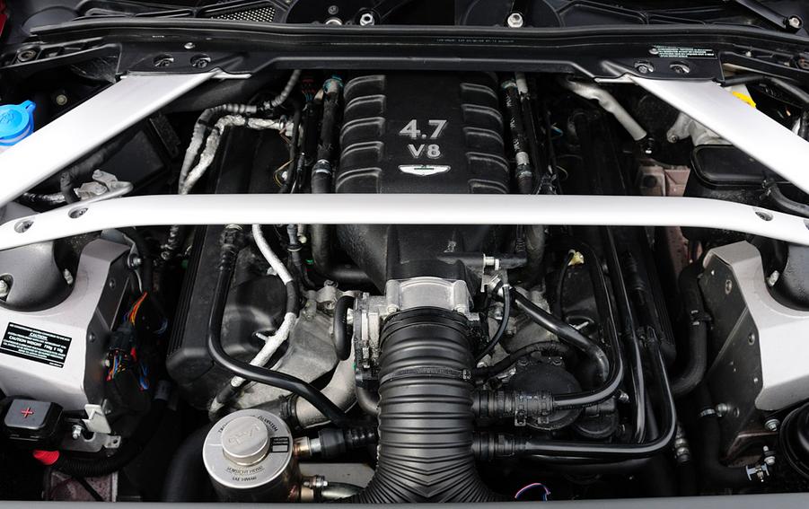 2020 Aston Martin Vantage Engine