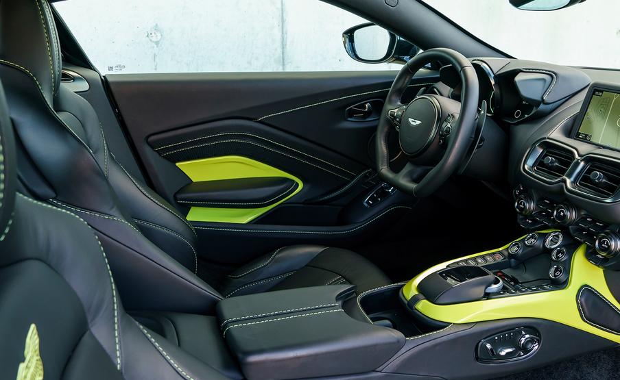 2020 Aston Martin Vantage Interior