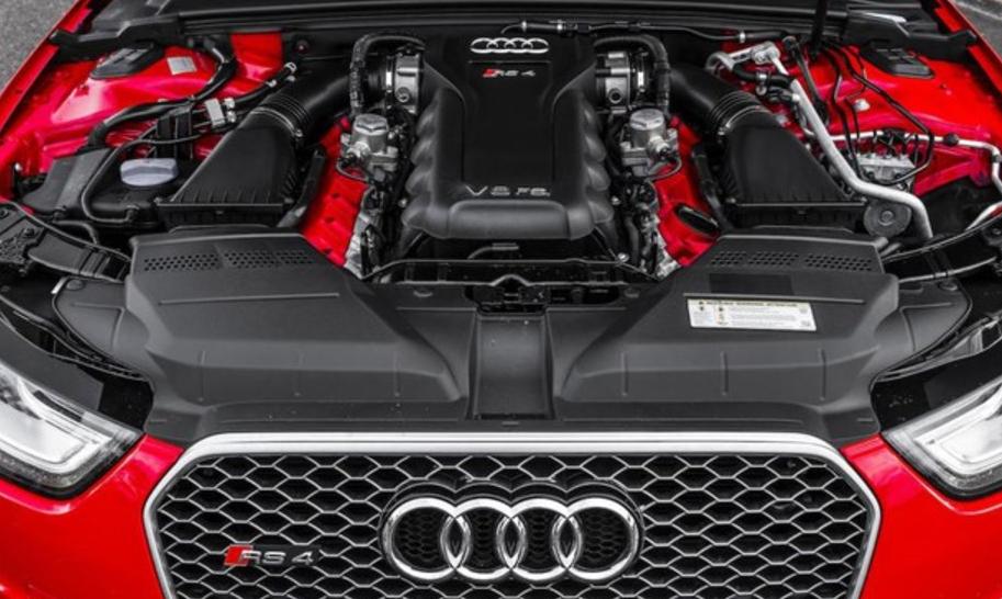 2020 Audi RS4 Engine