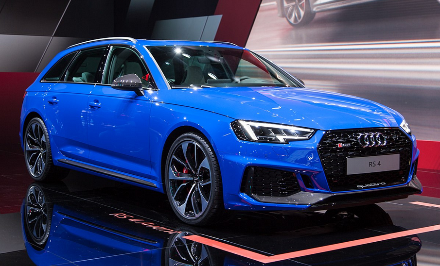 2020 Audi RS4 Exterior
