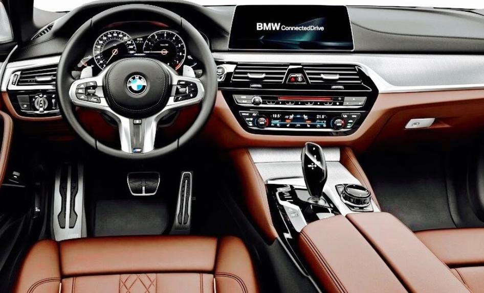 2020 BMW 5 Series Interior
