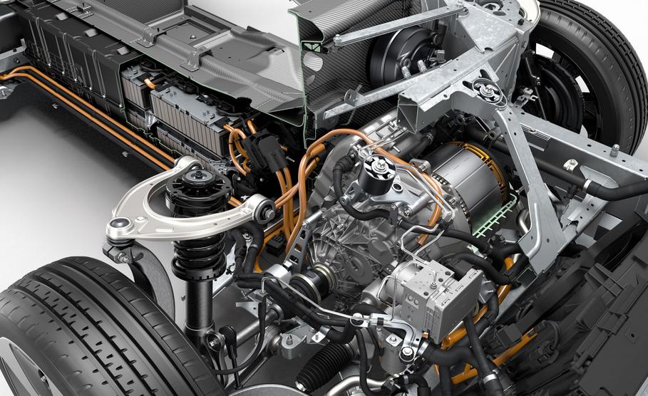 2020 BMW i8 Engine