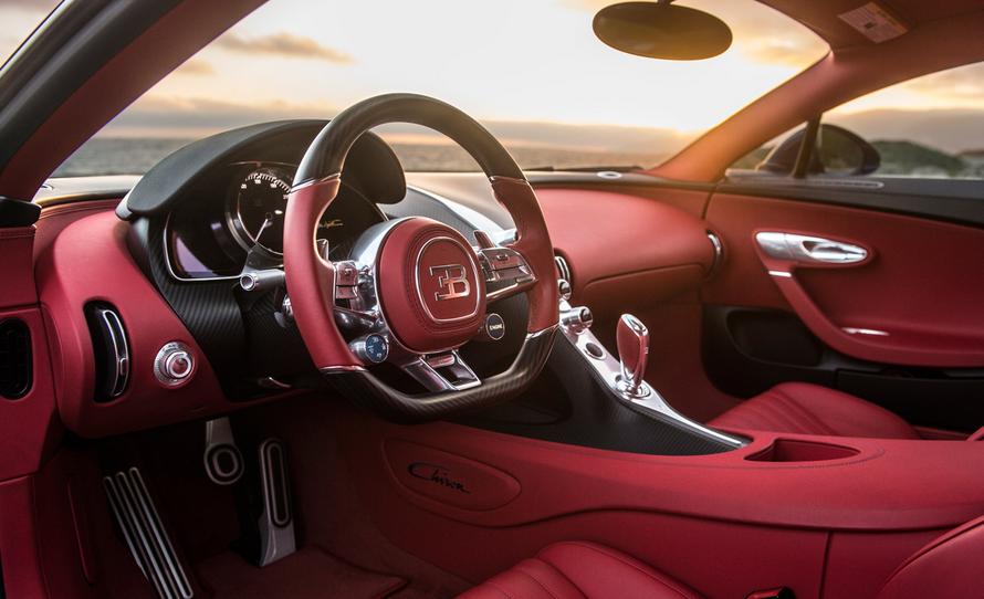 2020 Bugatti Chiron Interior