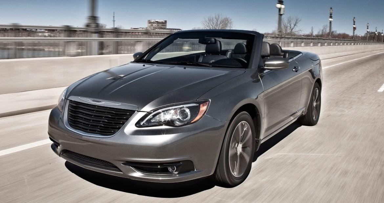 2020 Chrysler Convertible Exterior