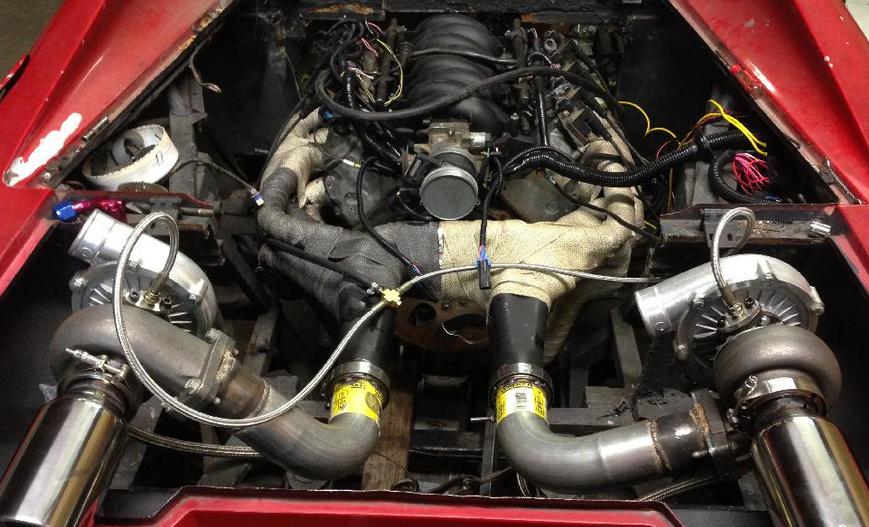 2020 Ferrari Dino Engine