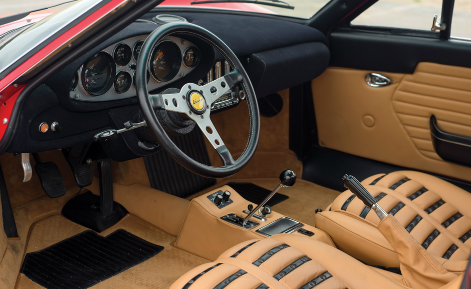 2020 Ferrari Dino Interior