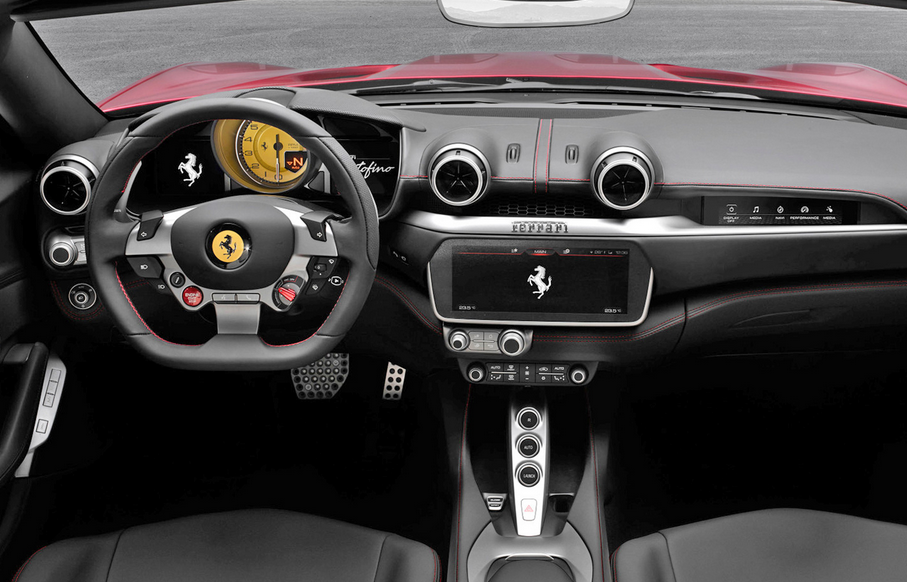 2020 Ferrari Portofino Interior