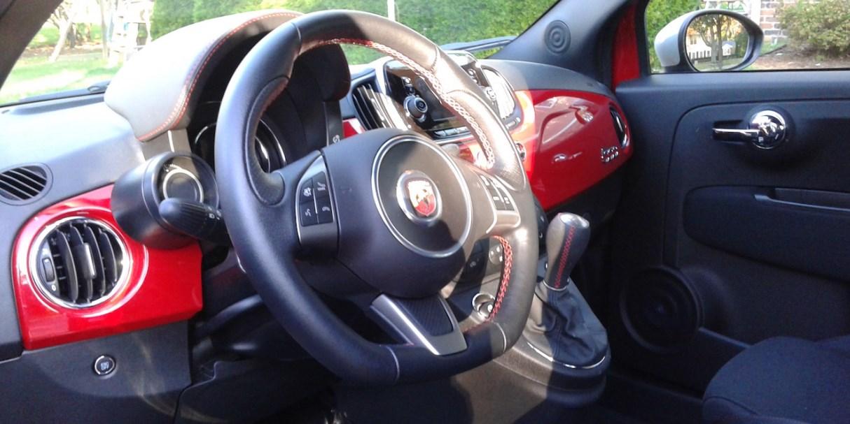 2020 Fiat Abarth Interior