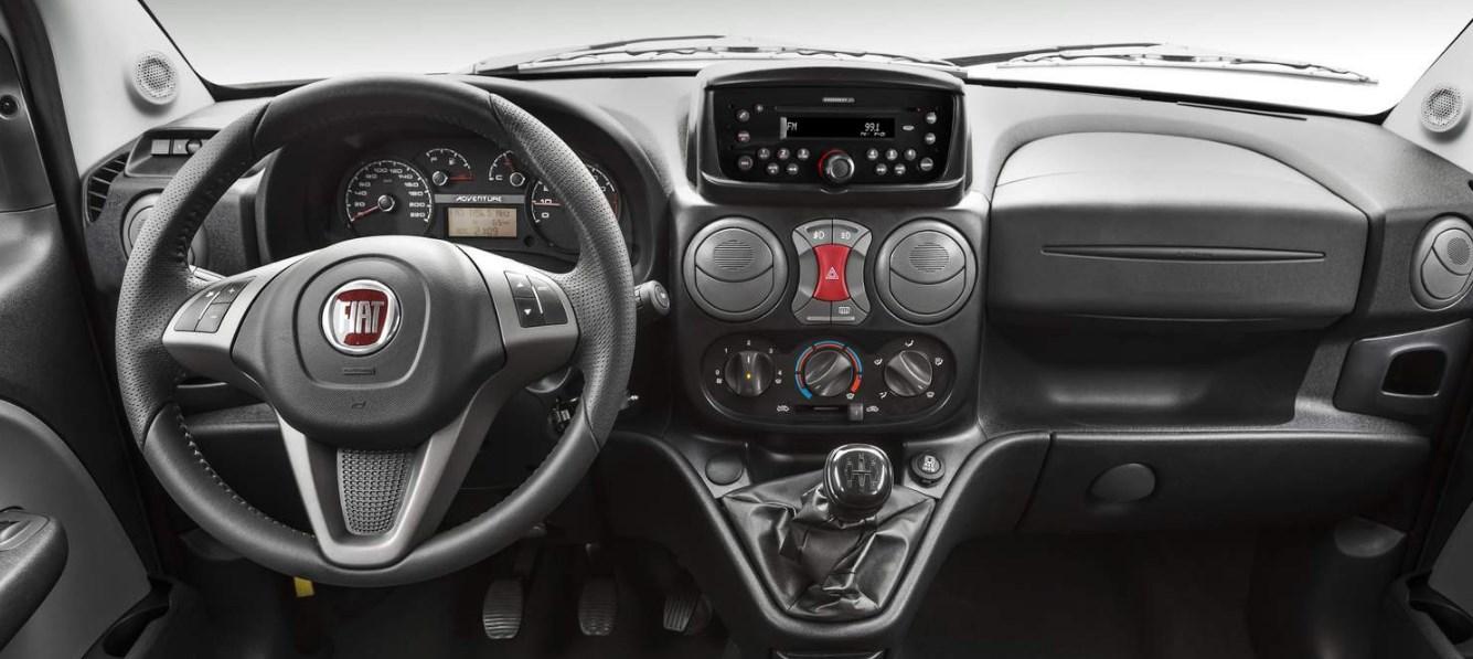 2020 Fiat Doblo Interior