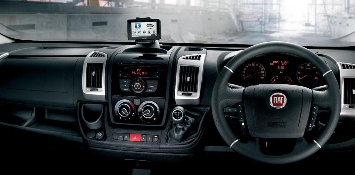 2020 Fiat Ducato Interior