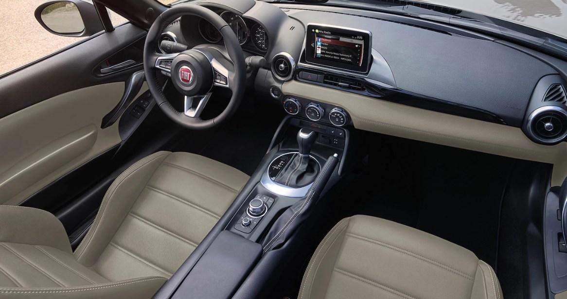 2020 Fiat Spider Interior