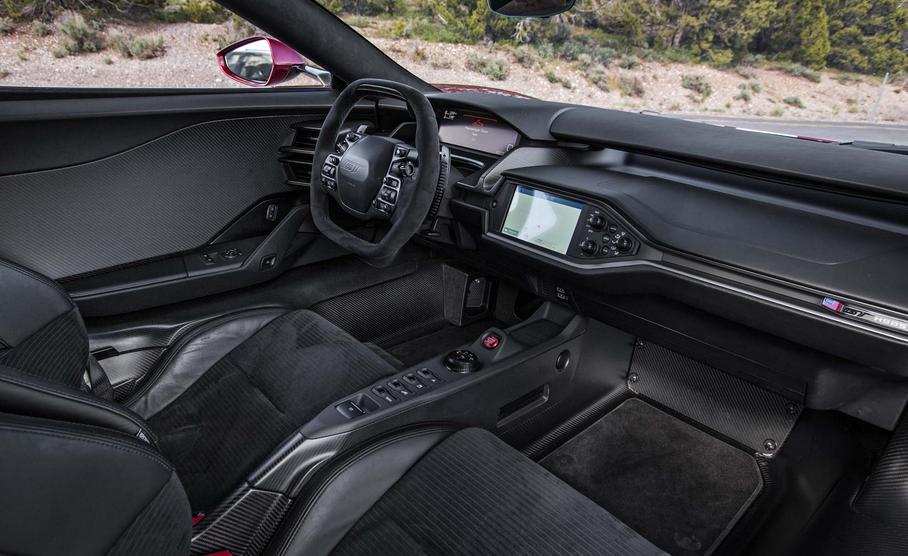 2020 Ford GT Interior
