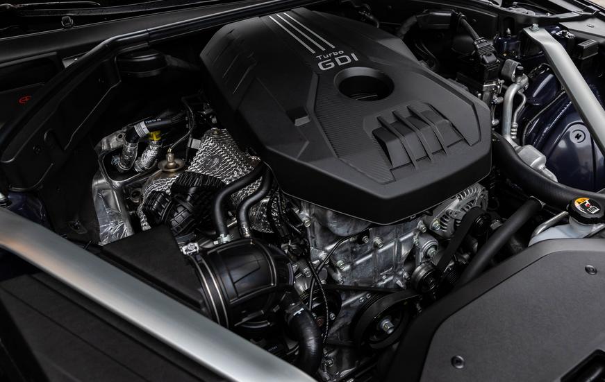 2020 Genesis G70 Engine