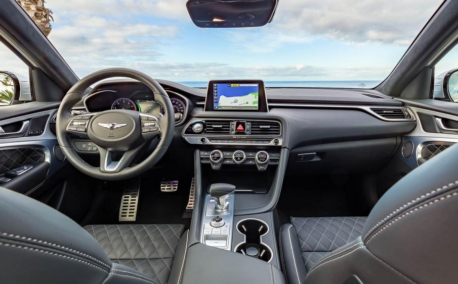 2020 Genesis G70 Interior
