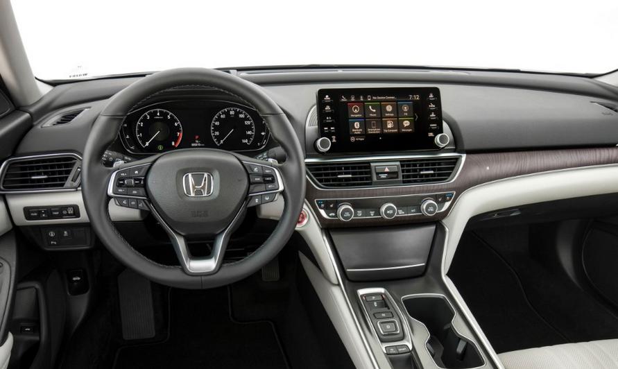 2020 Honda Accord AWD Interior