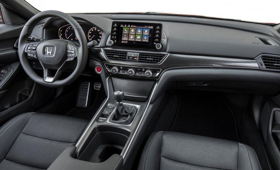 2020 Honda Accord V6 Interior