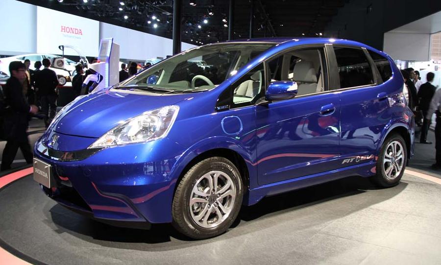2020 Honda Fit EV Exterior