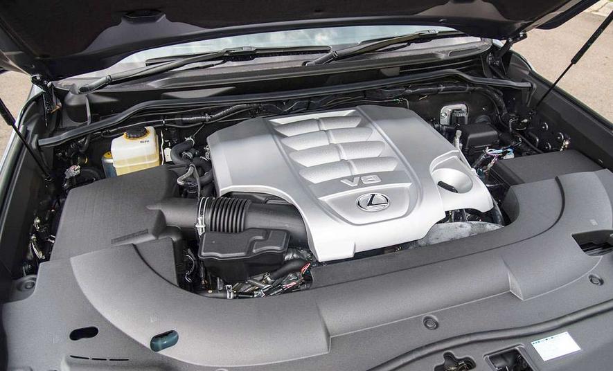 2020 Lexus LS Hybrid Engine