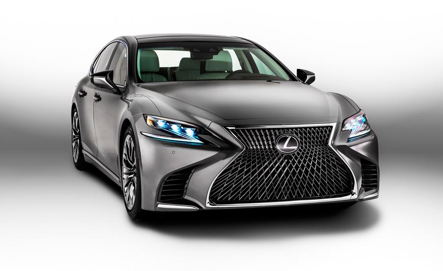 2020 Lexus LS Hybrid Exterior