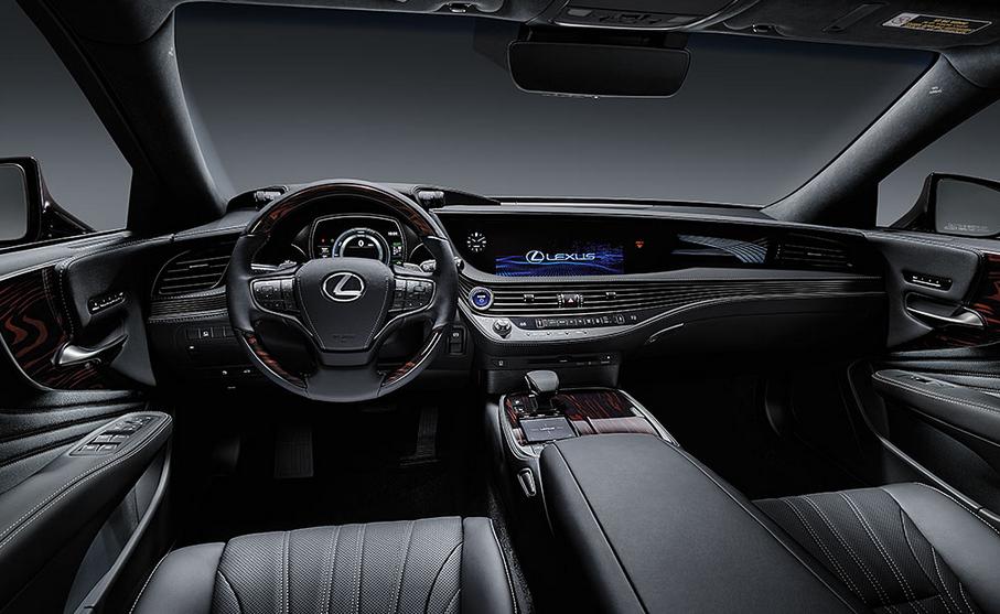 2020 Lexus LS Hybrid Interior