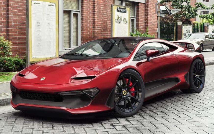 2020 Lotus Esprit Exterior