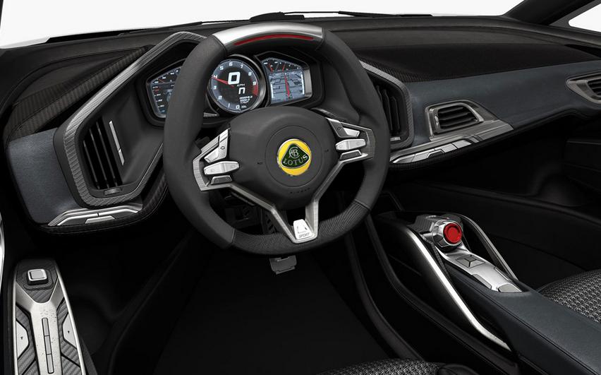 2020 Lotus Esprit Interior