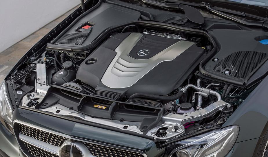 2020 Mercedes Benz S-Class Engine