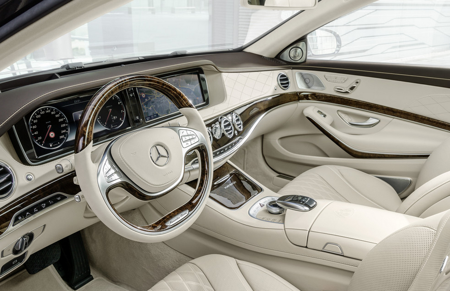 2020 Mercedes Benz S600 Interior