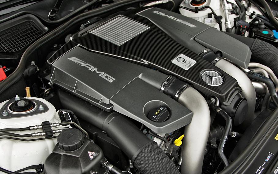 2020 Mercedes-Benz S63 Engine