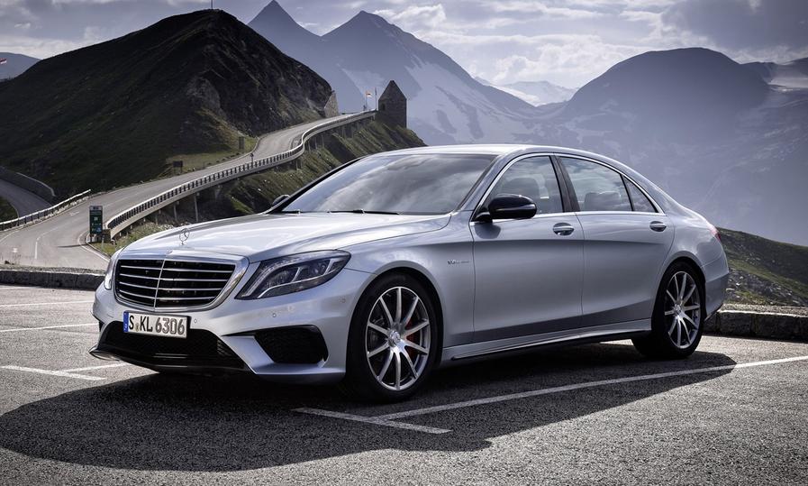 2020 Mercedes-Benz S63 Exterior