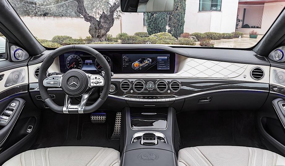 2020 Mercedes-Benz S63 Interior