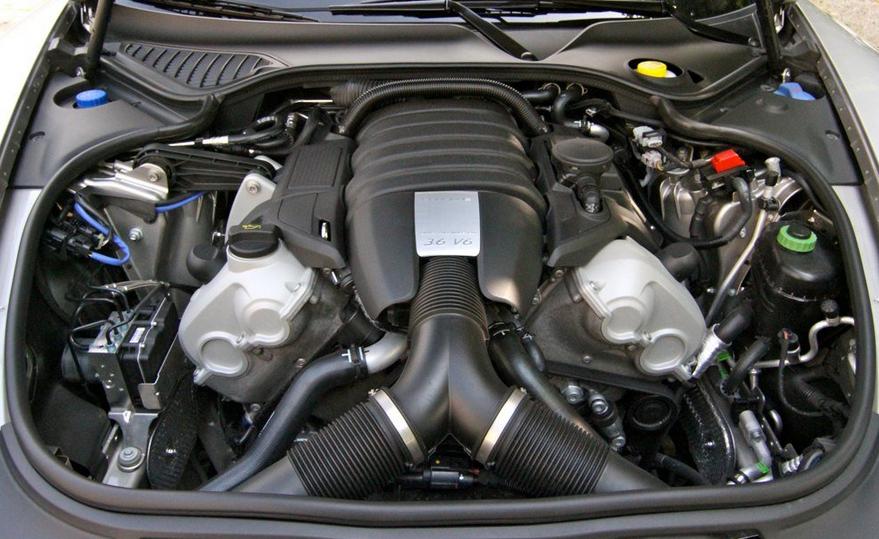 2020 Porsche Boxster Engine