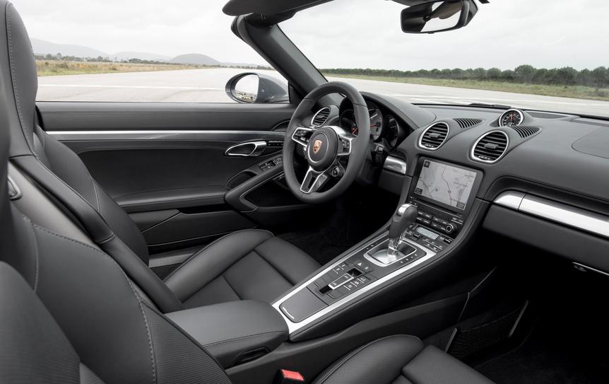 2020 Porsche Boxster Interior