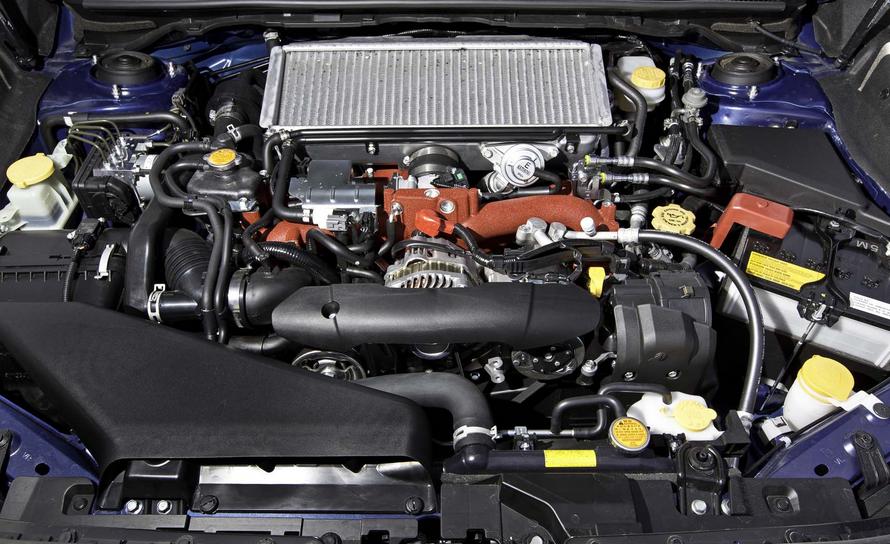 2020 Subaru Impreza WRX STI Engine