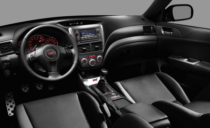2020 Subaru Impreza WRX STI Interior