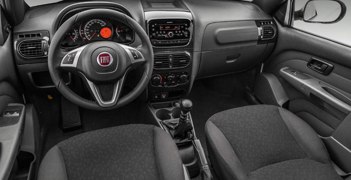 Fiat Strada 2019 Interior