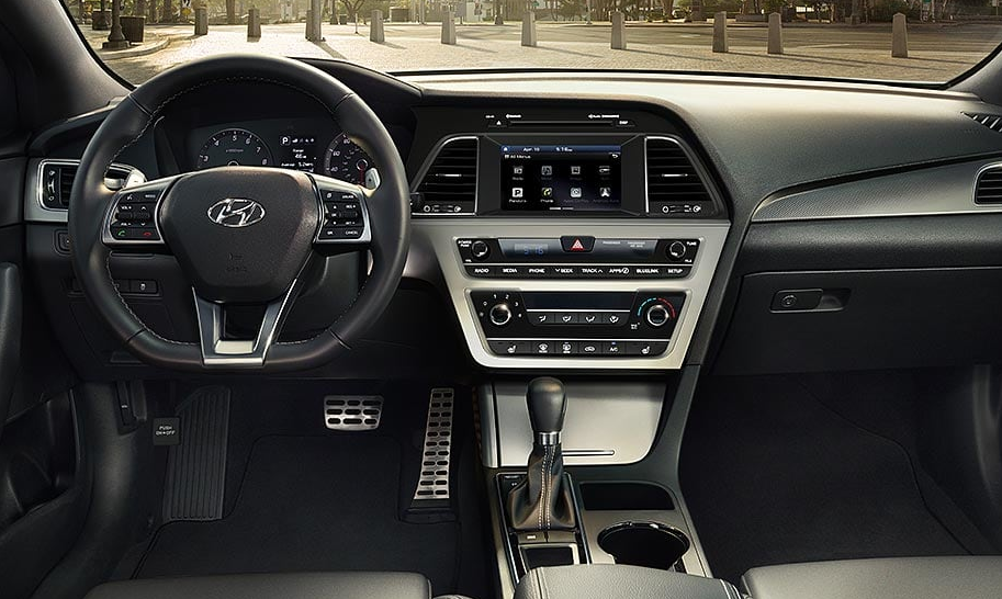 Hyundai Sonata 2020 Model Interior