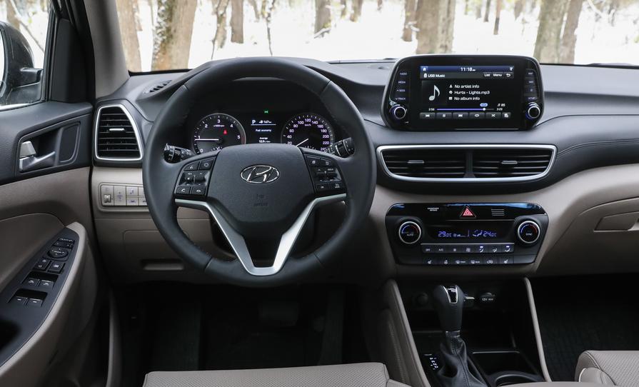 Hyundai Tucson Facelift 2020 Interior