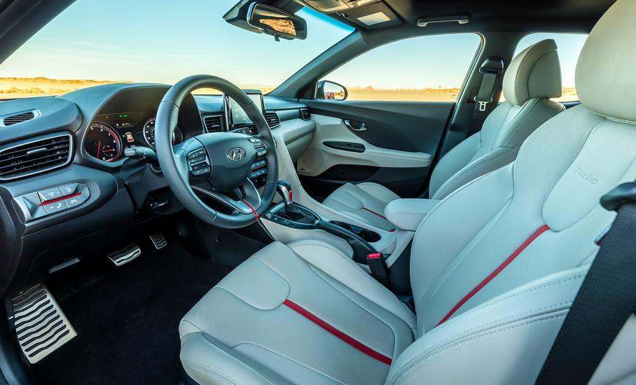 Hyundai Veloster 2019 Interior
