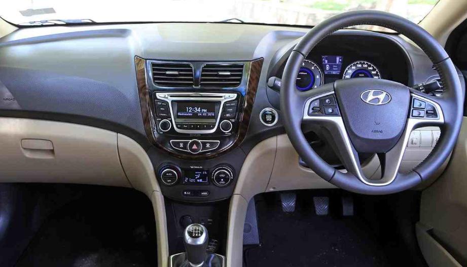 Hyundai Verna Facelift 2020 Interior
