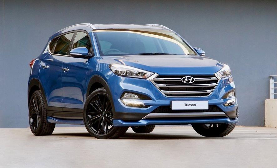 Nuova Hyundai Tucson 2020 Exterior