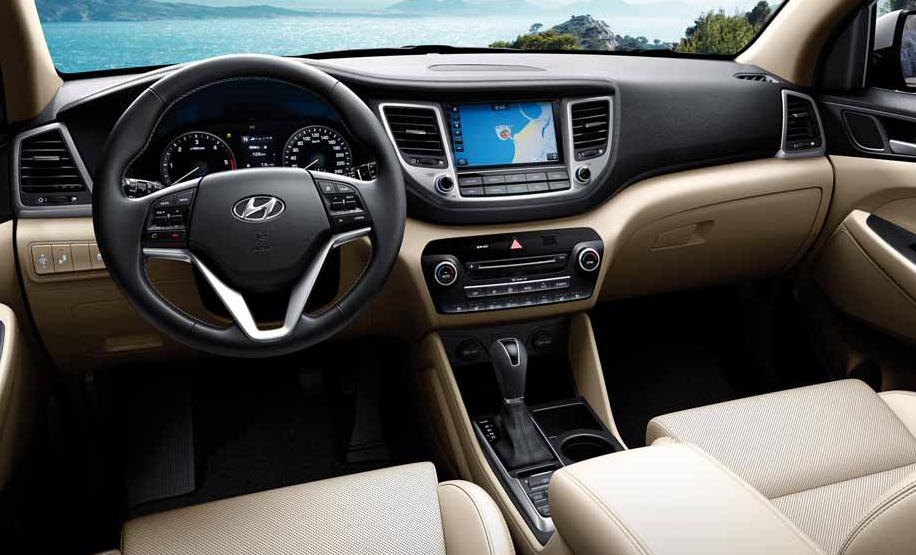 Nuova Hyundai Tucson 2020 Interior