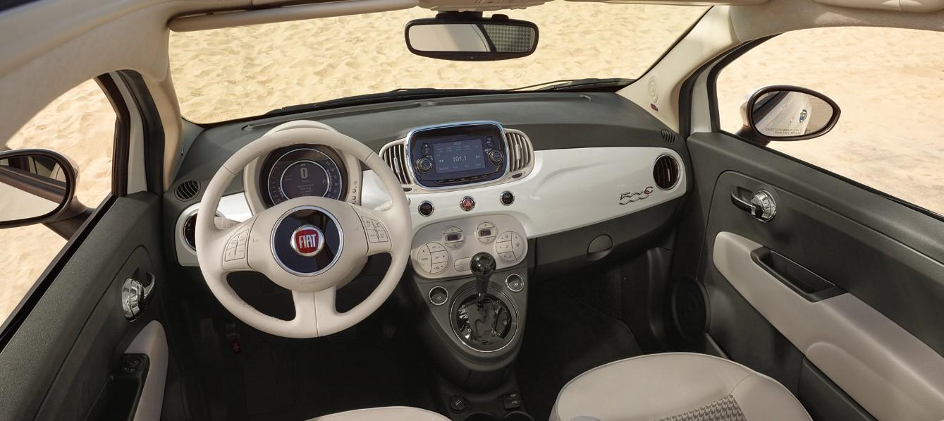 2019 Fiat 500 Interior