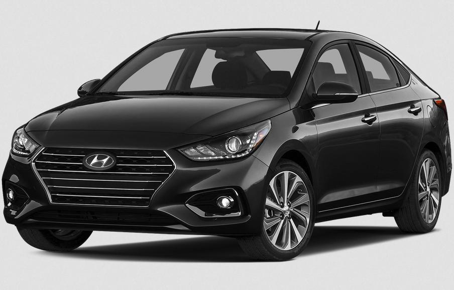 2019 Hyundai Accent Sedan Exterior