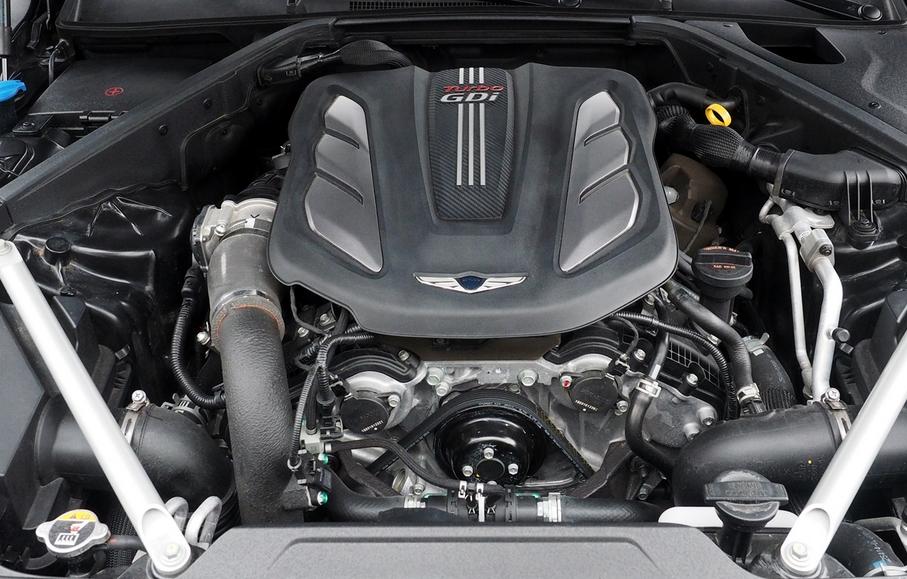 2019 Hyundai G90 Engine