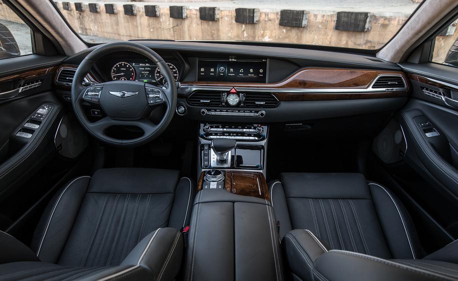 2019 Hyundai G90 Interior